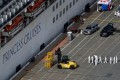 People in protective gear walk towards the Grand Princess cruise ship as coronavirus tests are conducted and arrangements are being made to offload passengers while the vessel docks at the Port of Oakland, in California, on Monday. Photo: Reuters