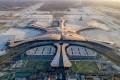 An aerial view of Beijing Daxing International Airport in Beijing. Photo: AP