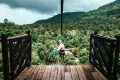 The zip line entry to the Shinta Mani Wild resort, in Cambodia's Kirirom National Park, on the eastern edge of Southern Cardamom National Parkcorr. Photo: Shinta Mani Wild