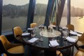 A private dining room at Aqua. The restaurant in Tsim Sha Tsui looks out over the harbour. Photos: handouts