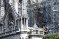 LMVH and Kering's owners contributed to the €1 billion-plus raised for the restoration of Notre-Dame de Paris cathedral after it was badly damaged by fire in April 2019. Photo: AFP