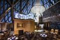 Robuchon au Dôme features a chandelier cascading from the central dome. Photos: handouts