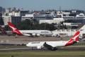 Qantas will halt all international flights in response to the coronavirus pandemic. Photo: Reuters