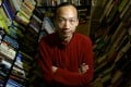 Surdham Lam, owner of second-hand bookstore Flow Books, has big plans for his books. Photo: Jonathan Wong