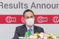 Victor Li Tzar-kuoi, Chairman of CK Asset Holdings, during an online press conference on the annual results 2019 in Central. Photo: CK Asset Holdings