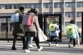 Japan shut schools on March 2 to help limit the spread of the coronavirus. Photo: Kyodo