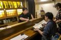 Taniguchi Yoshitada said the numbers coming to his restaurant had plunged. Photo: Handout