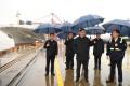 Chinese President Xi Jinping made a surprise visit on Sunday to the Ningbo-Zhoushan port Zhejiang province, eastern China on Sunday. Photo: Xinhua