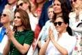 Kate Middleton, Meghan Markle, and that engagement ring. Photo: @whitecrownroyalchic/Instagram