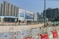 The incident occurred at the Tseung Kwan O-Lam Tin Tunnel construction site. Photo: Google