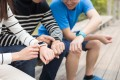 There is a surge in usage of fitness-tracking devices and apps, as more people grapple with the uncertainty around coronavirus infection and treatment. Photo: Shutterstock.