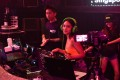 DJ Farah Farz of Singapore nightclub Zouk performs in front of a video camera during a live-streamed 'cloud-clubbing' party last week. Photo: AFP