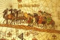 An illustrated map depicting the journey of Marco Polo along the Silk Road. Photo: Getty Images