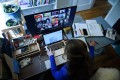 Video conferencing software Zoom has become ubiquitous as executives at companies around the world try to stay in touch while working from home. Photo: AFP