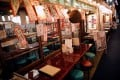 An empty restaurant in Tokyo's shopping and amusement district of Ginza, which has been hit because of the coronavirus outbreak. Photo: Reuters