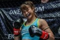 Stamp Fairtex before her bout against Janet Todd. Photos: One Championship