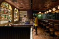 The front bar of The Diplomat, in Central, Hong Kong, designed by Bong Yeung of Littleurbanmountain. Photo: Handout