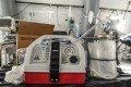 A ventilator and other hospital equipment is seen in an emergency field hospital in New York City. Photo: AFP