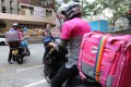 Food delivery services such as Foodpanda are proving essential for stricken restaurants hit by social-distancing rules. Photo: Felix Wong