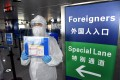 China has banned most foreigners from entering the country and has limited diplomats' movements. Photo: Xinhua