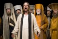 Frederik Mayet plays Jesus Christ in the Oberammergau Passion Play, in 2010. Photo: Stuart Forster