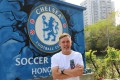 Leslie Santos faces a major challenge to keep his Chelsea FC Soccer School Hong Kong afloat during the Covid-19 pandemic. Photo: Chan Kin-wa