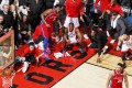 Kawhi Leonard's game seven buzzer beater illustrates the magic of long play-offs runs for the NBA. What about a 24 team, three-game series? Photo: AP