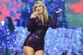 Taylor Swift performs at Amazon Music's Prime Day concert at the Hammerstein Ballroom in New York last year. She will not be touring in 2020 because of the coronavirus outbreak. Photo: AP