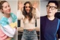 While in lockdown, celebrities and influencers are showing their fun sides using the viral streaming platform TikTok. Photos: TikTok