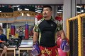 Xu Xiaodong in Beijing training for his fight in Thailand last year. Photo: Qin Chen