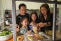 Global lockdowns have prompted a rise in home cooking and baking as people turn to their kitchens to de-stress – which is bringing families, like Sherry Wong's, together. Photo: Felix Wong