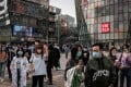 China's economy shrank for the first time in decades the first quarter as the coronavirus paralysed the country. Photo: AFP