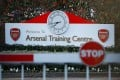 Arsenal's training ground in London Coleny is seen on March 13, after manager Mikel Arteta tested position for the coronavirus. Premier League matches have been suspended since mid-March. Photo: Action Images via Reuters