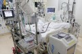 The intensive care unit at a Japanese hospital. Many facilities are reluctant to admit coronavirus patients as they deal with a surge in cases. Photo: Kyodo