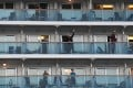Passengers stranded aboard a cruise ship during the coronavirus outbreak. Photo: Reuters
