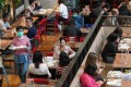 A ban on tables of more than four people is expected to be relaxed. Photo: Felix Wong