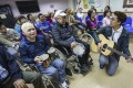 Stroke survivors take part in a musical performance at a rehabilitation centre in Quarry Bay in May 2019. Photo: Jonathan Wong