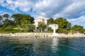 A waterfront castle is available on the six-hectare Bijela isle in Croatia. It's just one of many private islands that are on sale in Europe, often at reasonable prices.
