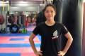 Nana Tsang is anxious to reopen her Wan Chai gym. Photo: Nana Tsang