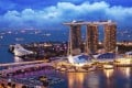 The Marina Bay Sands hotel's three towers have reflective surfaces to give the impression of a moving body of water, where there is a constant flow of chi or energy. It's an example of the influence of feng shui – Chinese geomancy – on Singapore's modern architecture. Photo: Shutterstock