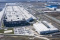 Tesla's Gigafactory in Shanghai is the electric car maker's only plant outside the United States. Photo: Bloomberg