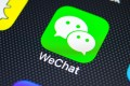 A new report says WeChat monitors the content sent by foreign accounts as part of its censorship of accounts registered in China. Photo: Shutterstock