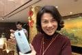 Chairwoman of Gree Electric Appliances, Dong Mingzhu, in Beijing. Photo: SCMP/Cissy Zhou