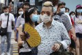 People crowd Mong Kok on Sunday as the social distancing measures against coronavirus relax. Photo: K.Y. Cheng