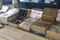 Some of the goods from a bust on Tuesday that has taken the total value of maritime-smuggling seizures to HK$150 million this year. Photo: Handout