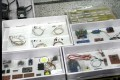 Circuit boards and parts of explosives seized by police, in April. Photo: Hong Kong Police