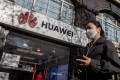 The US government claims that Huawei's equipment pose a security risk because the company might be obliged to give up information to Beijing, an accusation Huawei has repeatedly denied. Photo: AFP