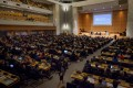 The World Health Assembly gathers in Geneva every May. This year it will be a virtual meeting because of the coronavirus. Photo: AFP