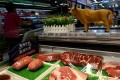Beef for sale at a Walmart in Beijing. File photo: Reuters