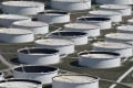 Crude oil storage tanks are seen at the oil hub in Cushing, Oklahoma. Oil prices rose on Monday amid signs of a recovery in demand for fuel. Photo: Reuters